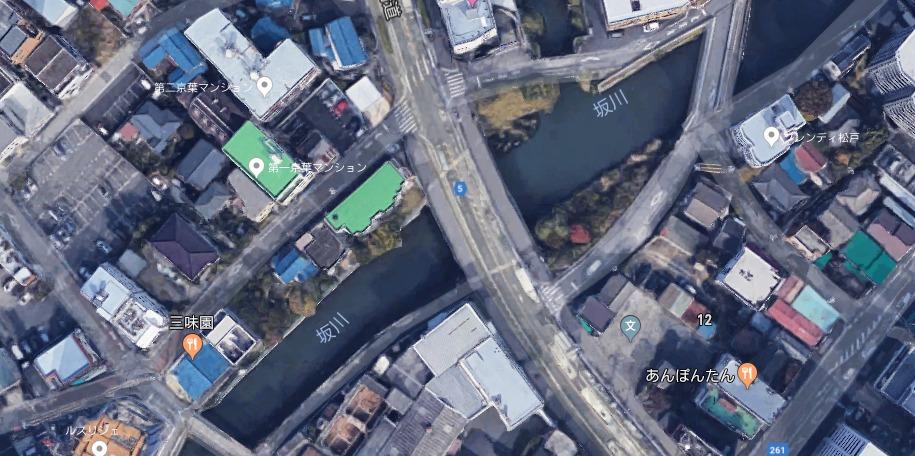 【ポイントマップ】江戸川水系 六間川&坂川 バス釣りオカッパリポイント&おススメルアー