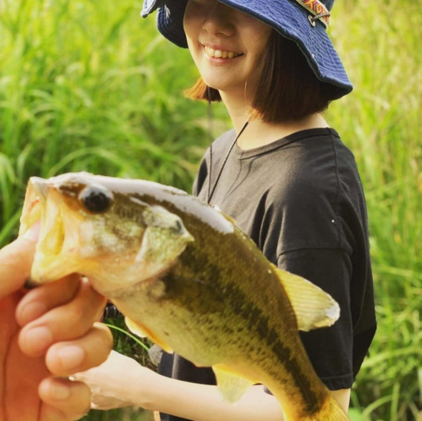 【電車釣行】印旛沼水系 新川・花見川 釣りガールバス釣り2回目の釣果はいかに?