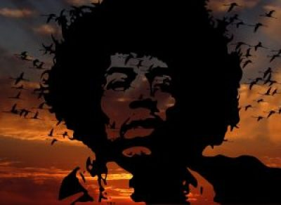 Jimi Hendrix accorder Mi bémol