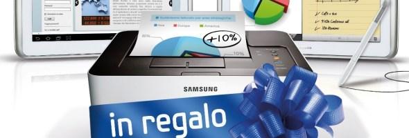 Crea e stampa subito con Samsung, a casa come in ufficio