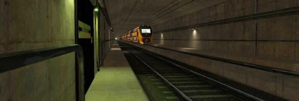 Dutch Railways use RescueSim simulator for tunnel incident and evacuation training