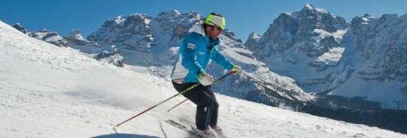 Prima neve low cost nelle Dolomiti