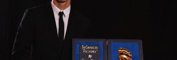 Zlatan Ibrahimovic è il vincitore del Golden Foot 2012