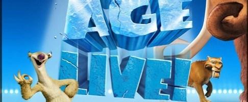 Ice Age Live! A Mammoth Adventure lo spettacolo dal vivo in anteprima mondiale a Londra