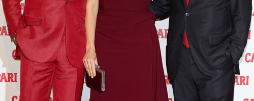 Penelope Cruz hits the Red Carpet to celebrate launch of Campari Calendar 2013