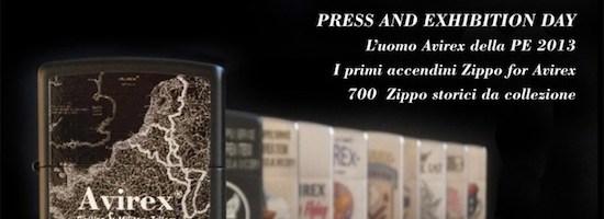 I primi accendini Zippo for Avirex