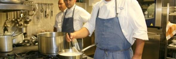 Gran Cenone di San Silvestro 2012 alla Torre del Saracino con lo chef Gennaro Esposito