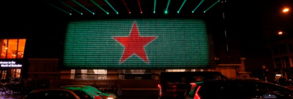 Heineken celebrates 140 years of connecting people with social media powered installation