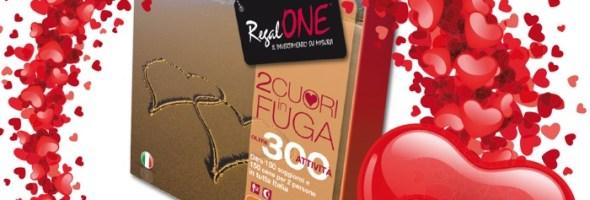 """Quest'anno San Valentino è più romantico che mai: per chi acquista il cofanetto di RegalONE """"2 cuori in fuga"""" la cena è offerta da Marcopolo Expert"""