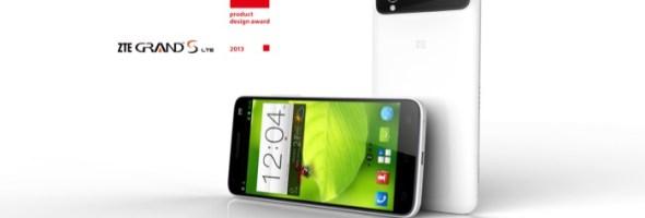 ZTE Grand S, il più sottile smartphone quad core 5.0″ FHD LTE