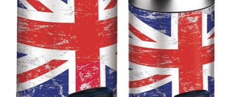 UNION JACK MELICONI – La Pattumiera Meliconi veste il british style
