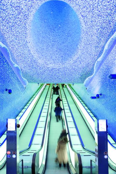Schindler fornitore di mobilità di Toledo, la più bella stazione della metropolitana in Europa