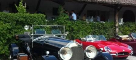 Vino e motori: alle Cantine Lungarotti la Bentley del '23 e la Carovana Romantica