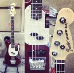 Fender – Mustang Bass USA