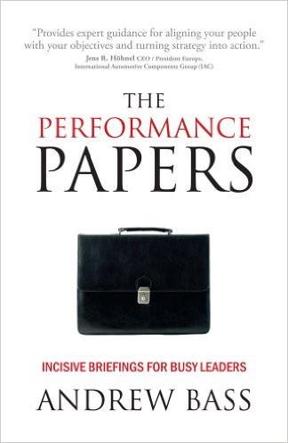 The Performance Papers by Andy Bass