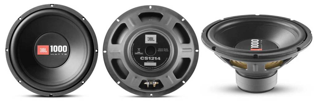 JBL CS1214, competition subwoofers