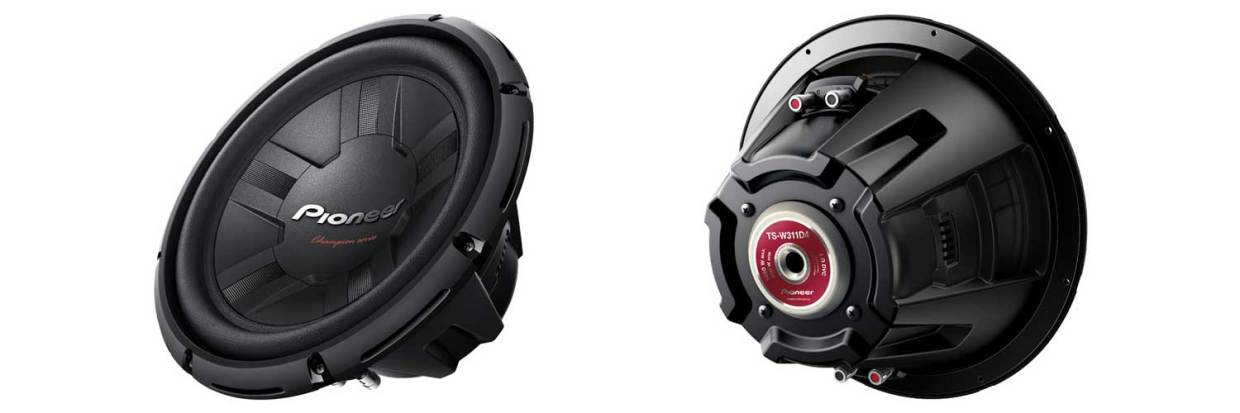 Pioneer TSW311D4 1400W, competition subwoofers