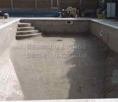 Строительство бассейна из бетона под ключ в Киеве фото № 4.