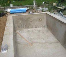 Строительство бассейна из бетона под ключ в Киеве фото № 5.