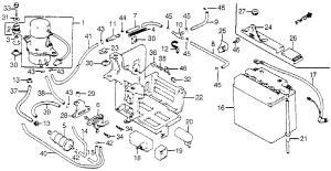 bassendackwards  Honda v45 Magna Battery and Fuel Pump