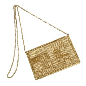 Golden Way Evening Bag
