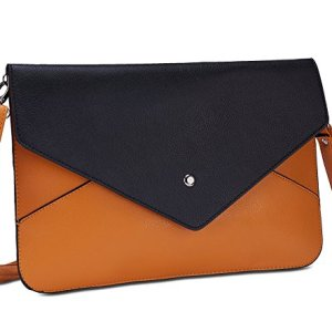Amma Jo Signature Envelope Clutch Handbag