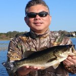Cold Front Toho Fishing in Central Florida for Largemouth Bass