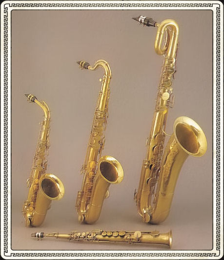 A Listing Of Adolphe Adolphe Edouard Saxs Instruments The