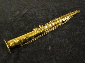 soprano sax, Tipped Bell Buescher True Tone soprano, vintage saxophone, rare sax