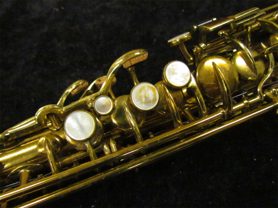 Tipped Bell Buescher True Tone Soprano For Sale | The Bassic Sax Blog