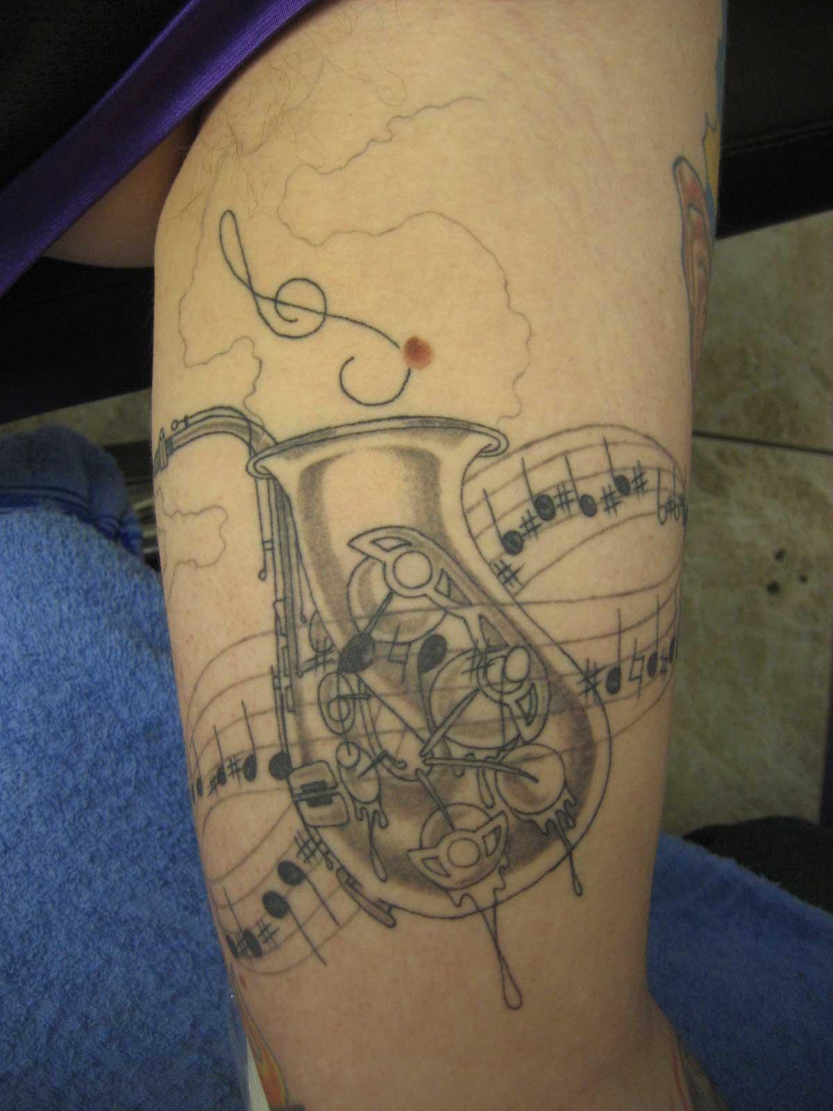 f3e0dde1a A Saxophone Tattoo: Really? | The Bassic Sax Blog