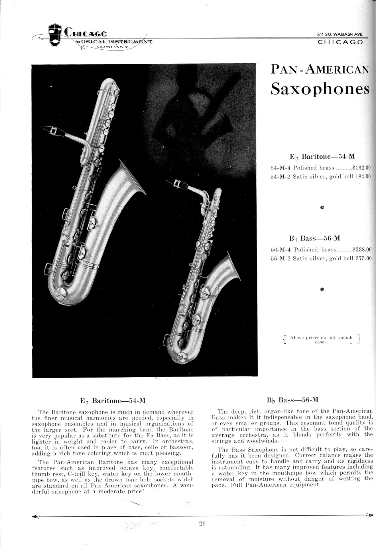 Pan American Saxophones From 1931 | The Bassic Sax Blog