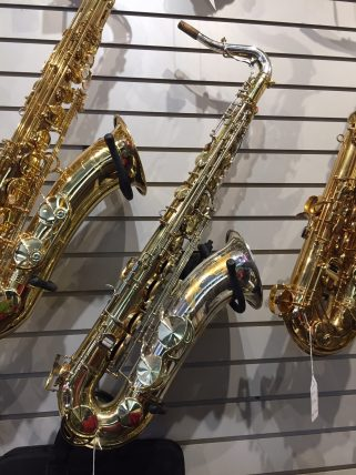 King Silversonic Super 20 tenor sax