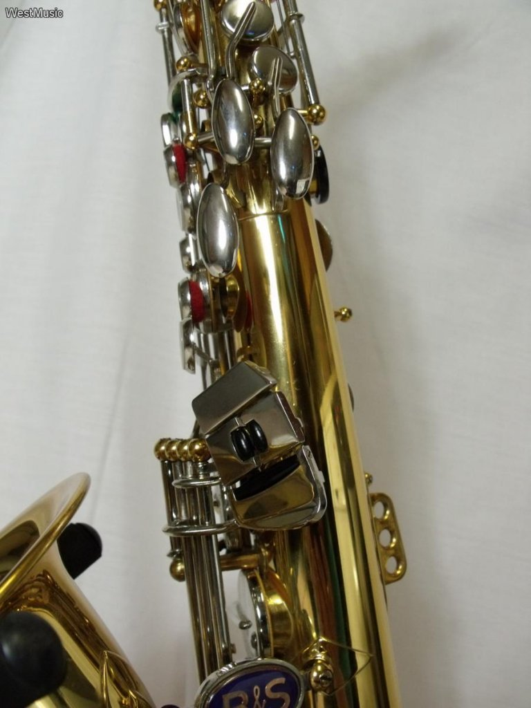 B&S blue label, alto sax, saxophone keys