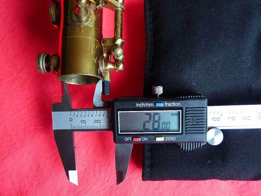 Dörfler & Jörka, tenor saxophone, socket, vintage, German