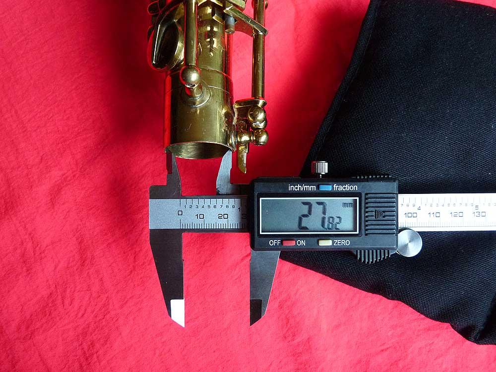 Julius Keilwerth, tenor saxophone, socket size, vintage, German