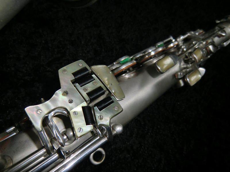 Weltklang tenor saxophone, sax key, mother of pearl key touches,