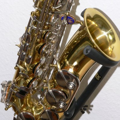 B&S blue label alto, serial # 1711. Source: eBay.de