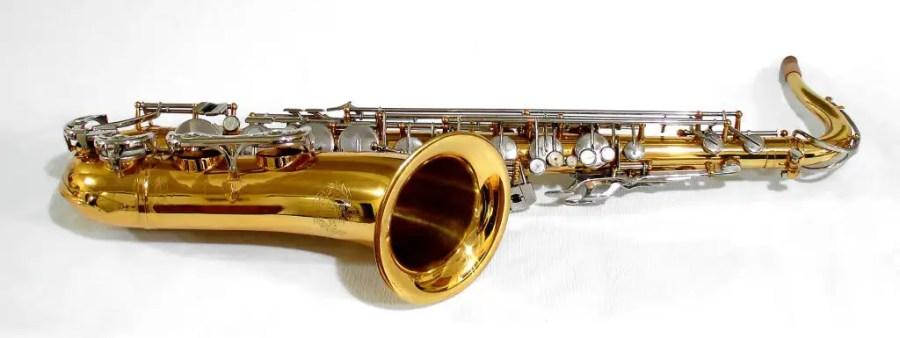 B&S blue label, tenor saxophone, vintage East German tenor sax, DDR