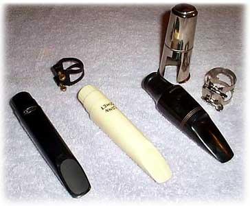 saxophone mouthpieces, Runyon 88, Conn Comet, Woowind LeBlanc