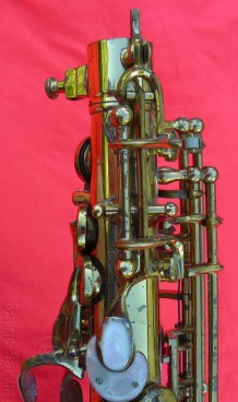 saxophone, octave mechanism, Hammerschmidt stencil,