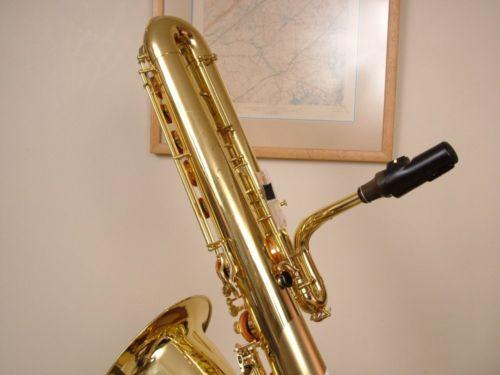 bass saxophone, Keilwerth, sax neck, sax mouthpiece,