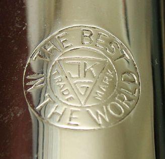 Julius Keilwerth, logo, saxophone, vintage,