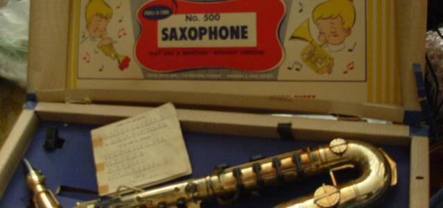 Proll-O-Tone Toy Sax