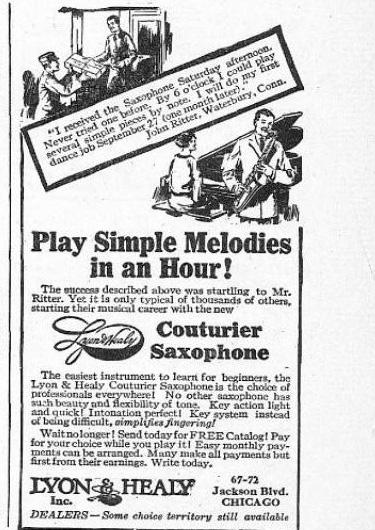 1924 Lyon & Healy Ad