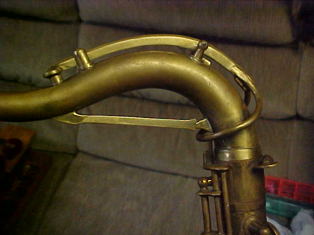 saxophone neck, tenor sax, sax neck brace