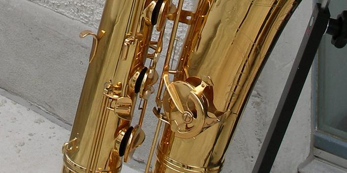 bass saxophone J'Élle Stainer model Vintage Bass