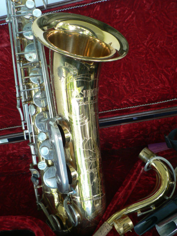 Julius Keilwerth, Toneking Special, tenor saxophone, vintage, German