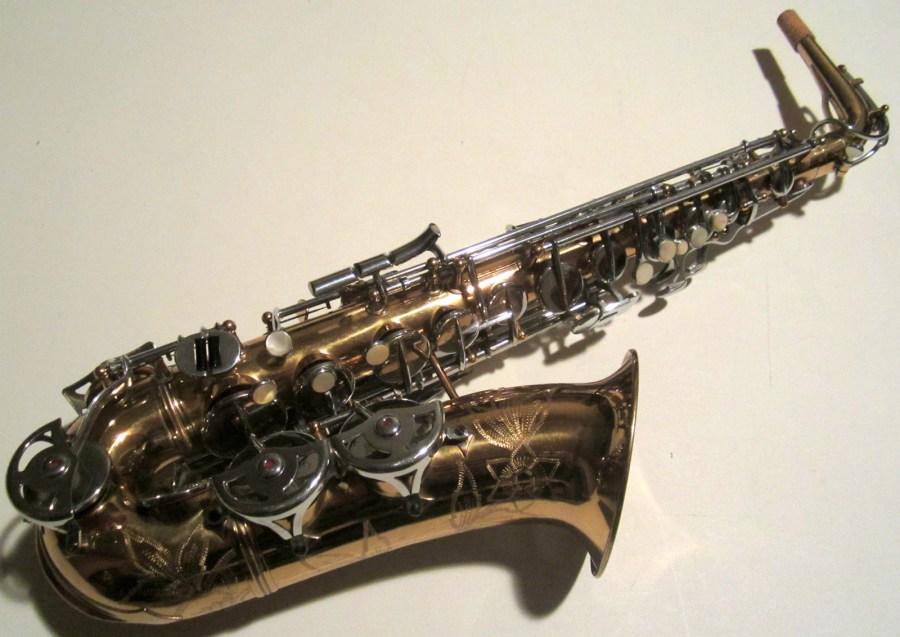 alto sax, Maurice Boiste, vintage French saxophone,