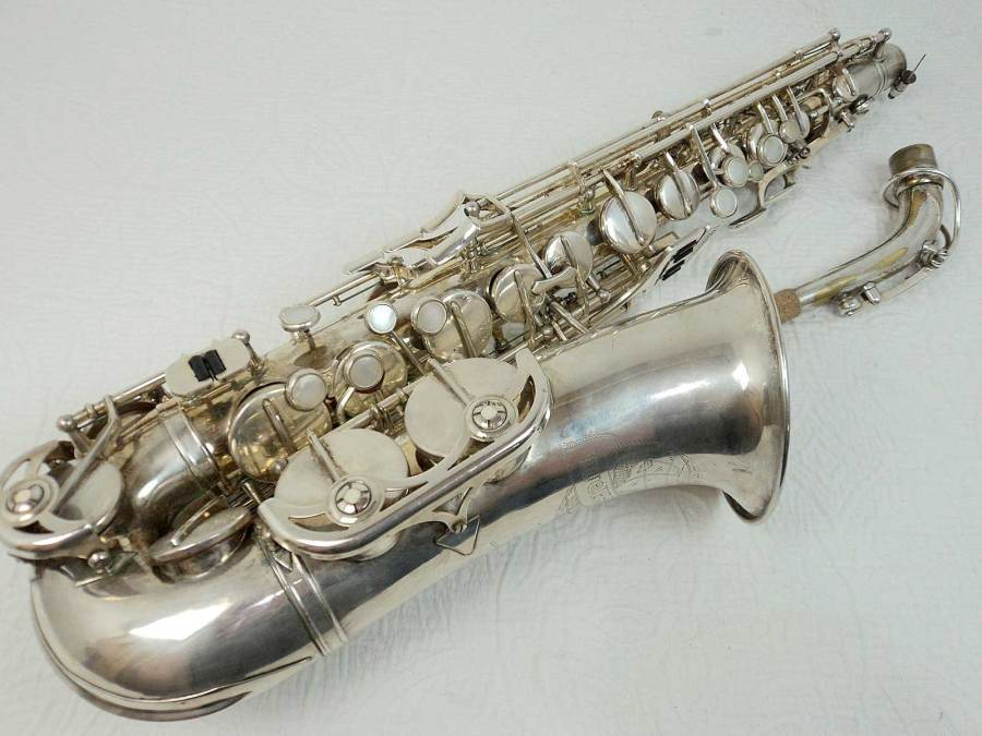 weltklang, alto saxophone, silver plated, vintage, German Sax, DDR